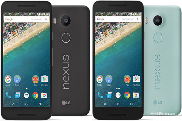 LG Nexus 5X disponibile da oggi in Italia