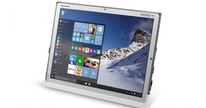 Panasonic Toughpad 4K FZ-Y1 annunciato, sistema Windows 10