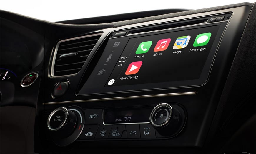 Apple CarPlay, il software degli automobilisti
