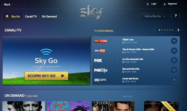 streaming sky go